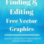 Modifying free vectors graphics for Canva