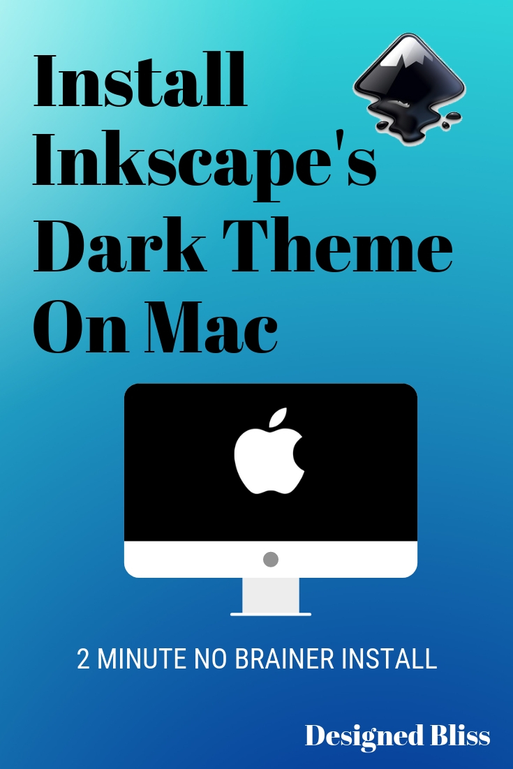 Install Inkscape Dark Theme For Mac Easily -Easily switch the Inkscape theme on Mac OS. The 0.92 version of Inkscape on Mac, it actually comes with several choices of theme. The theme file called gktrcis located for each version. It\'s simply a find,replace and restartprocedure.