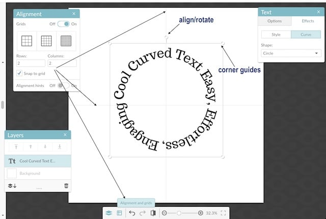 Word Circles- Create Curved Text Around Circles Effortlessly