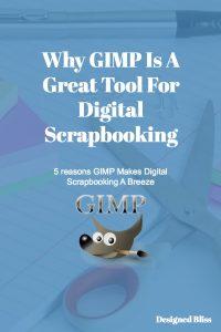 digital scrapbooking with gimp