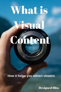 visual content - how it helps bloggers