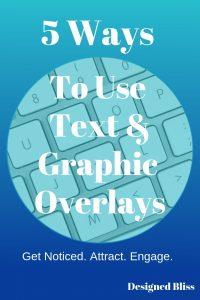 text photo overlays