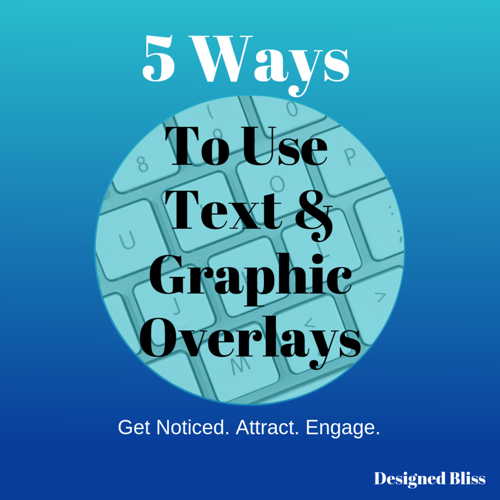 text and image overlays