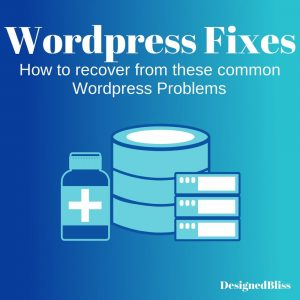 wordpress fixes- common wordpress errors