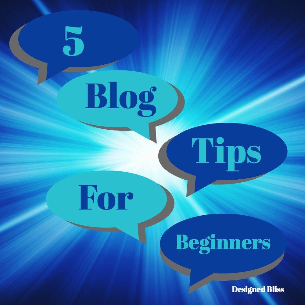 blogging beginner tips