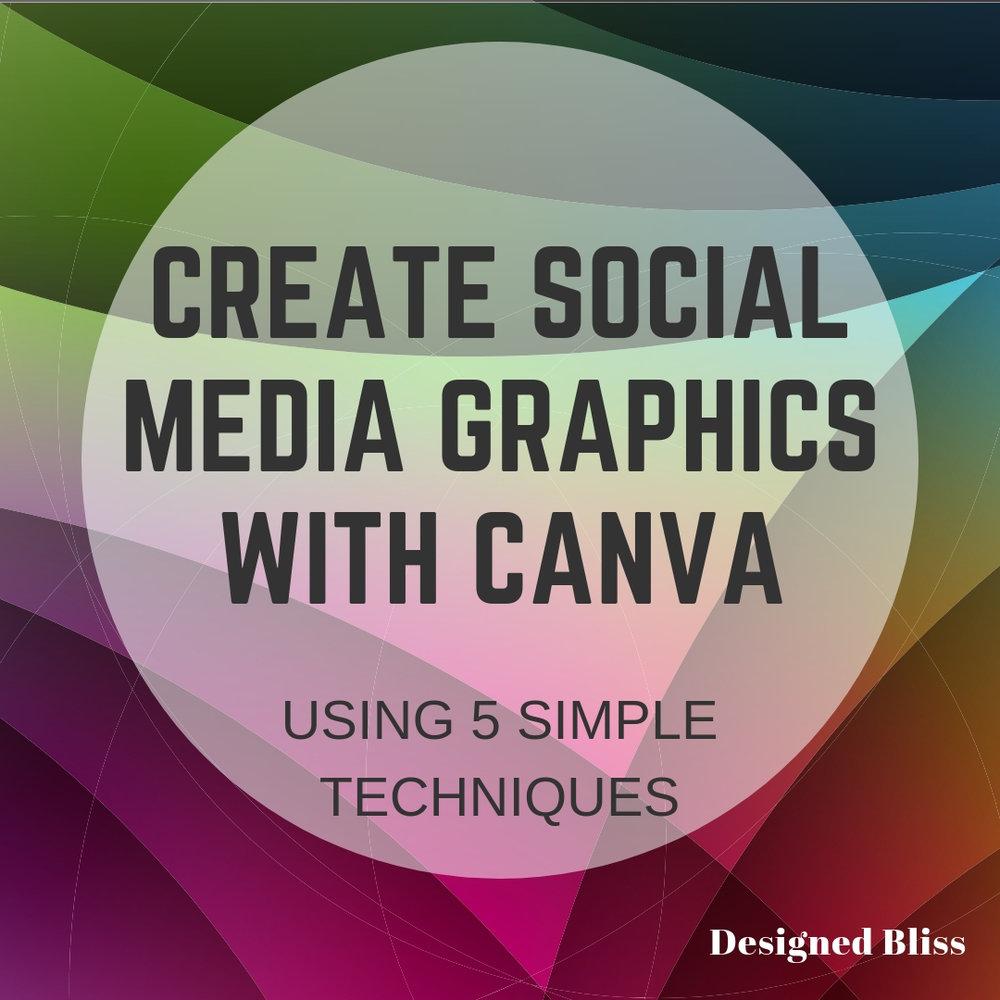 canva social media graphics