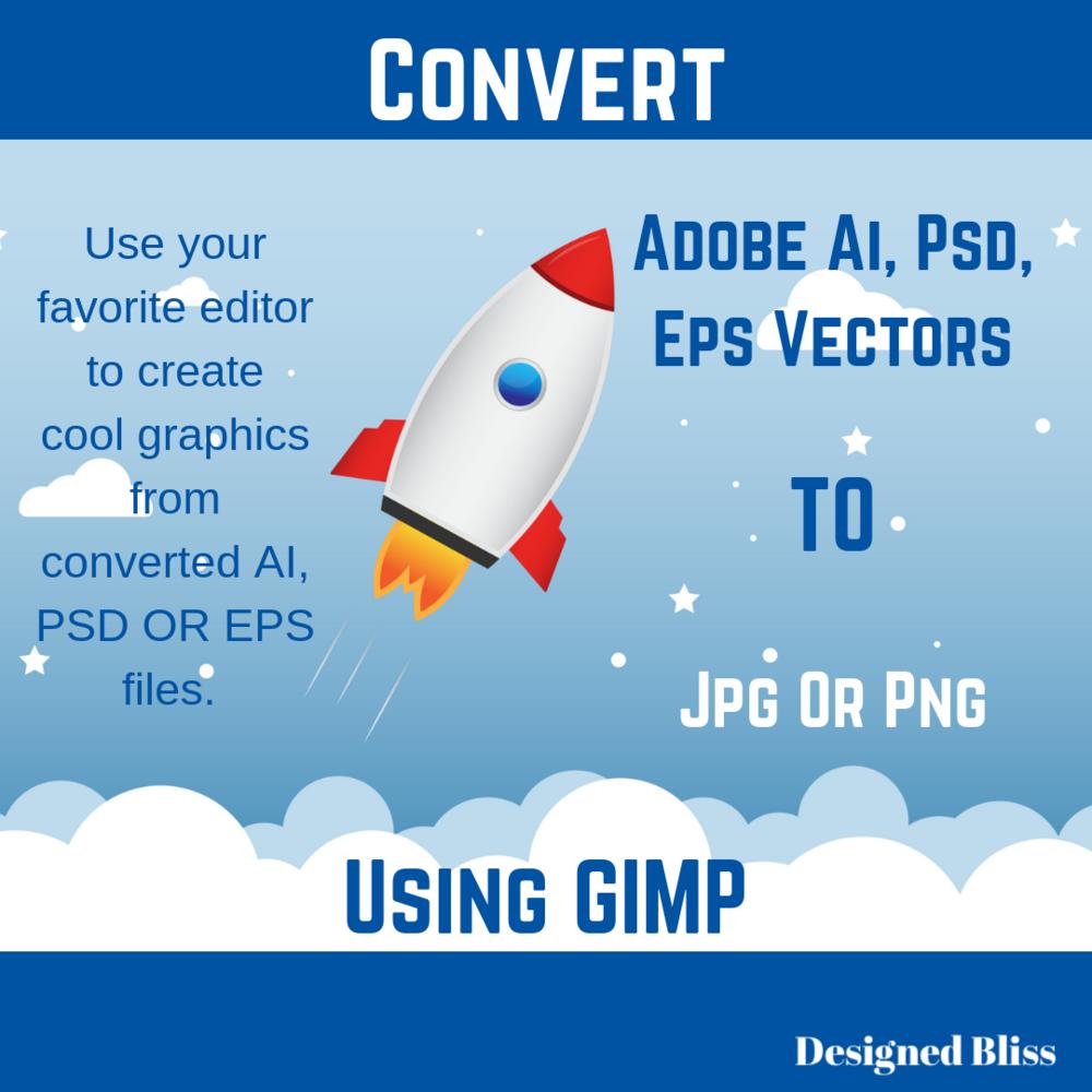 convert adobe files gimp