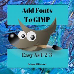 gimp-fonts
