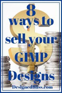 8 ways to sell your GIMP Designs